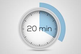 20 րոպե նպատակներին հասնելու համար