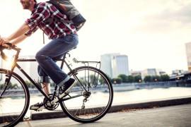հեծանիվով աշխատանքի