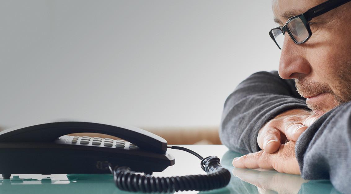 Վախ հեռախոսային զանգ կատարելուց
