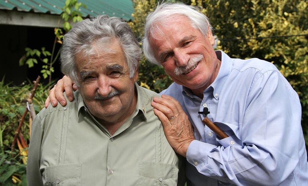 Յան Արթուս-Բերտրանը և Ուրուգվայի նախագահ Խոսե Մուխիկան