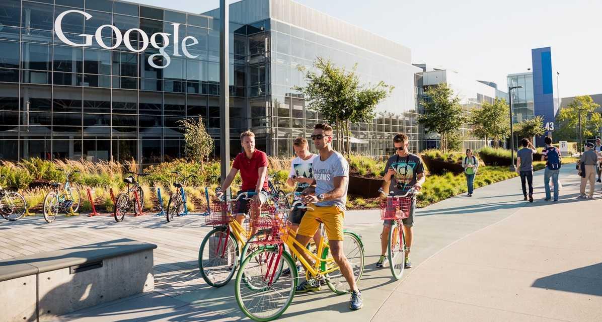 Google-ի գրասենյակը Սիլիկոնյան հովտում