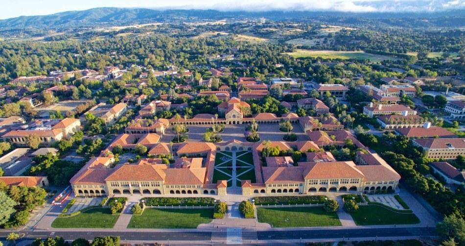 Սթենֆորդի համալսարանի զբաղեցրած տարածքը