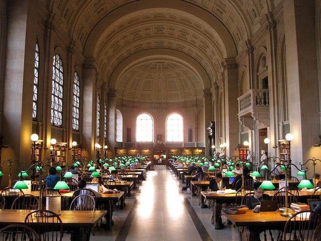 Բոստոնյան հանրային գրադարան