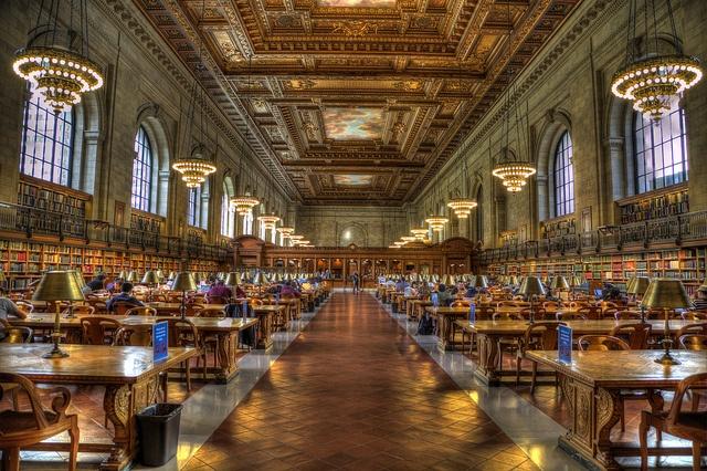 Նյույորքյան հանրային գրադարան