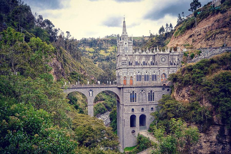 Լաս Լախասի եկեղեցի, Կոլումբիա